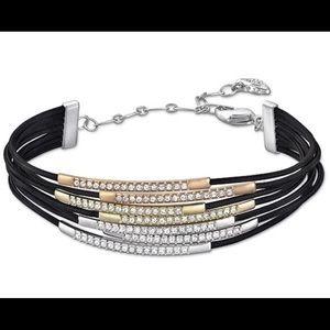 SwarovskiTritone Crystal Multicord bracelet